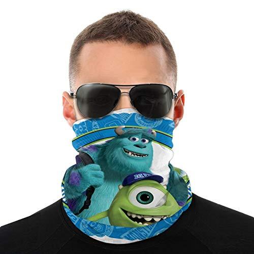 Monster University Baby Mike - Diadema elástica multifuncional para deportes y exteriores, con resistencia a los rayos UV