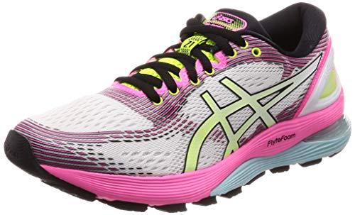 Asics Gel-Nimbus 21 SP, Zapatillas de Running para Mujer, Cream White, 37...