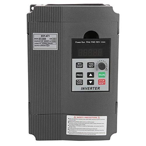 FTVOGUE 220 V Variador de frecuencia VFD Regulador de velocidad para motor...
