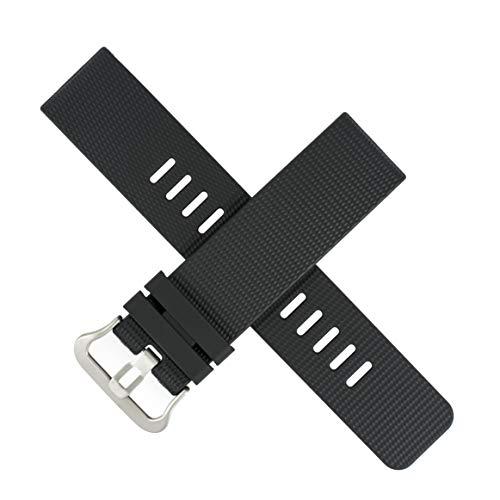 Correa de reloj Casio PRT-B50 PRT B50 B 50 B50FE negro 23 mm 10600349