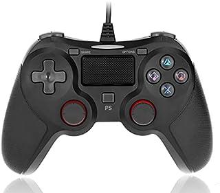 Manette PS4,Manette pour PS4,Manette PS4 Filaire pour Playstation 4,Manette de jeu Filaire pour PS4 / PS3 / PC (Win 7/8/1...