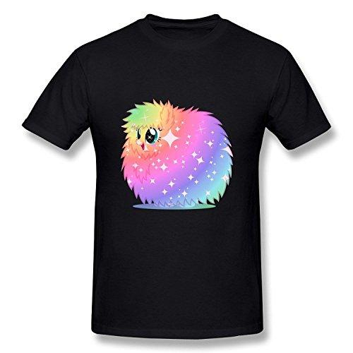 PEDD Men's Rainbow Power Fluffle Puff T-Shirt