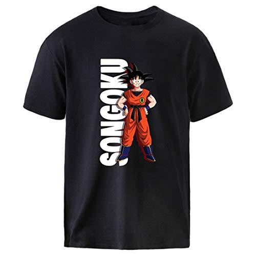 hemker Tme Empl Uomo T Shirt Casual Black Cotton T-Shirt for Men Print Design Yrnk Colorful 174