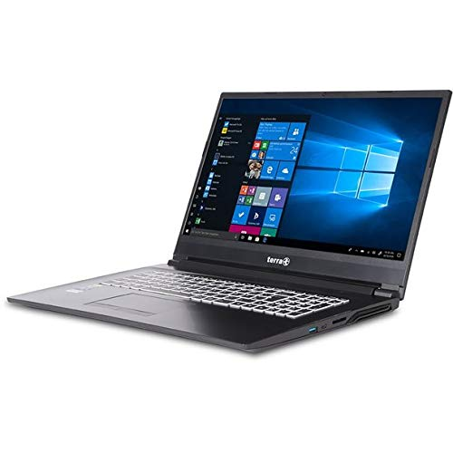 17,3 Zoll Notebook i7-9750H 16GB RAM 512GB SSD NVIDIA® Geforce GTX1650 - 4GB Windows 10 Pro Terra Mobile 1777