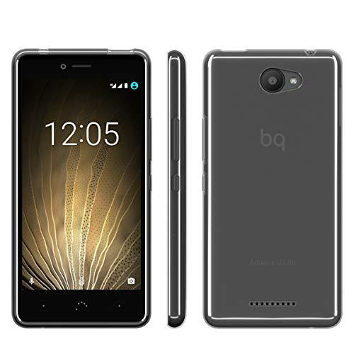 BQ E000720 Schutzhülle für Handy 12,7 cm (5 Zoll) blau - Schutzhülle für Handys (Tasche, bq, Aquaris U, Aquaris U Lite, 12,7 cm (5 Zoll), blau)