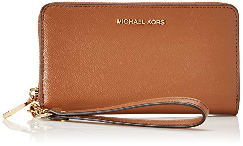 Michael Kors Damen Jet Set LG Coin MF PHN CASE, Luggage, L