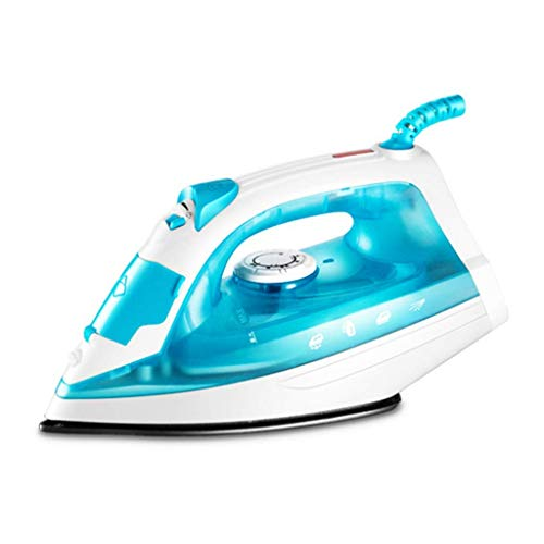 Irons Steam Generators Small Compact Travel Steamer Met anti-aanbak keramische Soleplate 1200W Powersteam Ultra hardnekkige kreuken te verwijderen, Blue1200W stoomstrijkijzers beste koop die prime ant
