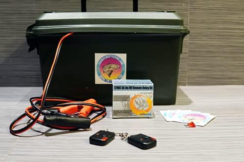 Fish Thumper with Plug (Thumper, Plug, Remote, 36mo Warranty)