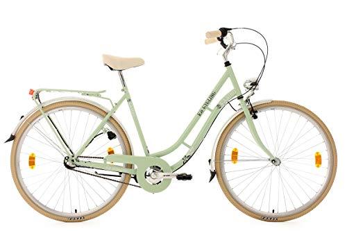 KS Cycling Damenfahrrad 28'' Casino lindgrün 3Gänge RH54cm