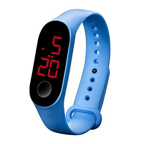 UINGKID Collection Unisex-Armbanduhr LED elektronische Sport leuchtende Sensor Uhren Mode Männer und Frauen Uhren