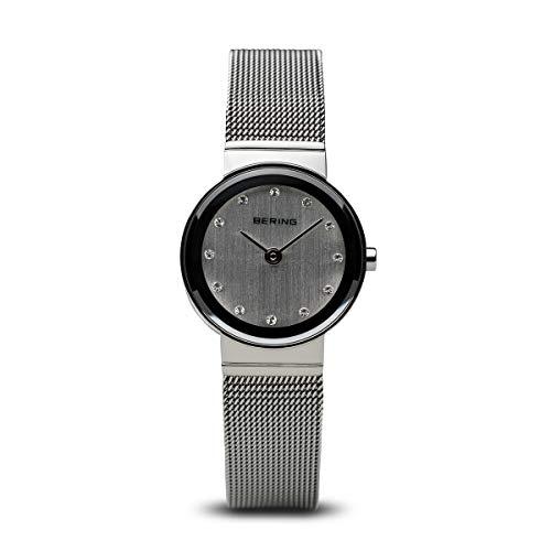 BERING Unisex-Armbanduhr Analog Quarz Edelstahl 10126-000