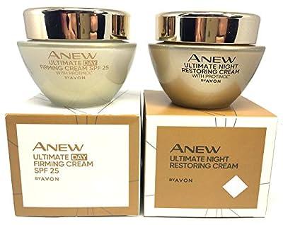 AVON Anew Ultimate Multi-Performance : Day Cream + Night Cream SET ! by Avon