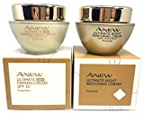 AVON Anew Ultimate Multi-Performance: crema de día + crema de noche.