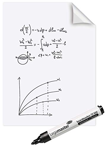 Legamaster Magic Whiteboard blanko wit