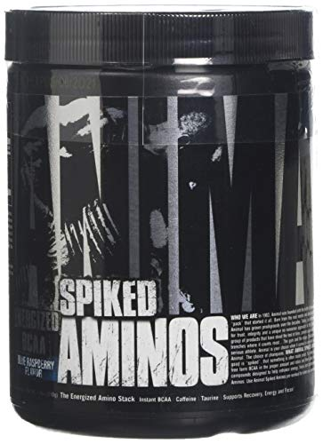 Universal Nutrition Animal Spiked Aminos Supplement, 210 g, Blue Raspberry