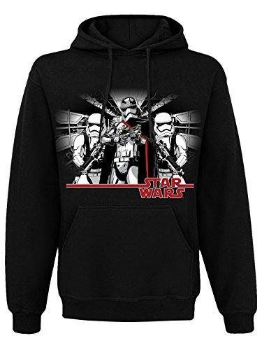 Officially Licensed Merchandise Captain Phasma Hoodie (Black), Medium