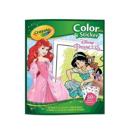 Crayola - Album coloriage & autocollants Princesses - Disney - 256494.024
