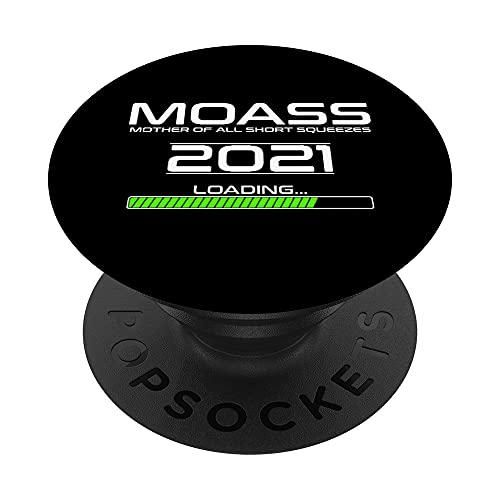 MOASS 2021 madre de todos los apretones cortos | WSB Apes PopSockets PopGrip Intercambiable