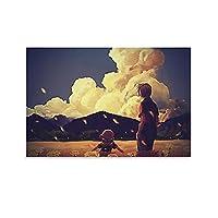 アニメクラナドアニメポスター装飾絵画キャンバス版画アートピクチャールーム装飾写真08×12インチ(20×30cm)
