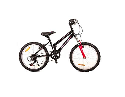 BDW Bicicleta infantil Blade de 20 pulgadas, frenos de aleación en V en el manillar, 5 velocidades, 95 % ensamblada (3)