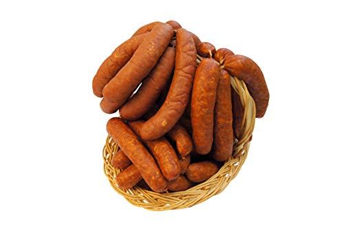 Würziges Wurstpaket Knacker Set mit Chili und Käse Krainer | Käsewurst und Chiliwurst | Wurstgeschenk Männer | 2000g