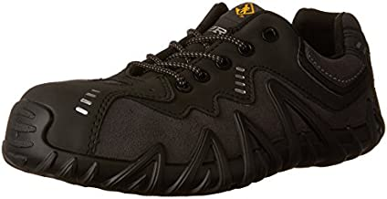 Terra Men's Spider Work Shoe, Black, 11 M US