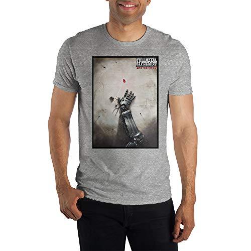 Mens Fullmetal Alchemist Brotherhood Graphic Tee-Large