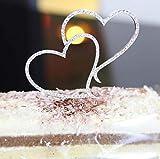 Dusenly - Decorazioni per torte nuziali, decorazioni per torte nuziali, San Valentino e anniversari