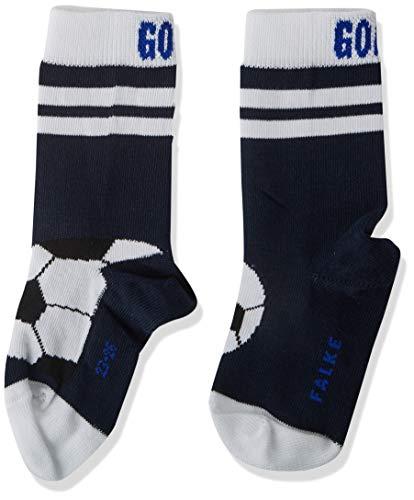 FALKE Jungen Active Soccer Socken, blau (Marine 6120), 27-30
