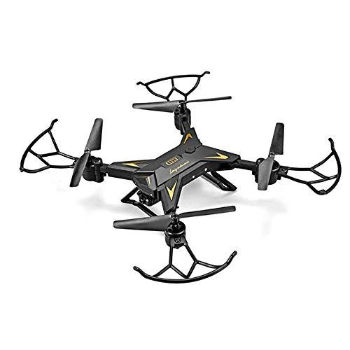 Langlebige faltbare Drohne 110 ° Weitwinkel 1080P hochauflösender Quadcopter (schwarz)