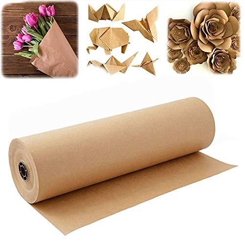 Miner 30M bruin kraft pakpapier voor het verpakken en inpakken van pakketten Sterke rollen