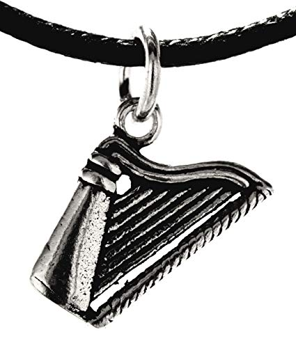 Kiss of Leather Anhänger Harfe aus 925 Sterling Silber Nr. 358