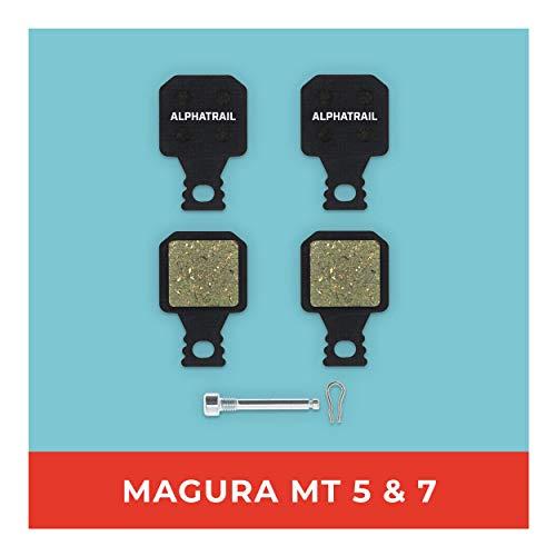 Magura Bremsbeläge MT-5 MT-7 für Fahrrad Scheibenbremse I Hohe Bremsleistung I Langlebiger & Passgenauer Bremsbelag I Gesinterter Belag