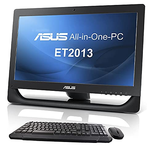 """COMPUTER DESKTOP All in One ASUS ET2013 20"""" Pentium Serial Port RS232 DVD-RW Win 10 Ufficio SmartWorking (Ricondizionato) (Senza KIT Mouse e Tastiera Wireless, 4GB RAM SSD 240GB)"""