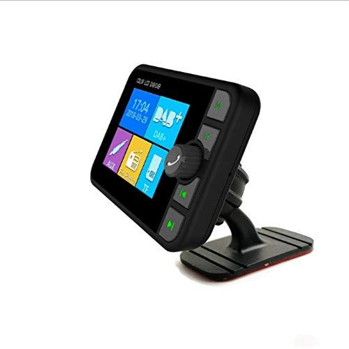 Digitale radio-ontvanger voor auto met SD-kaart, bluetooth, FM-lezer, maakt het weergeven van logo, albumafdekking mogelijk.