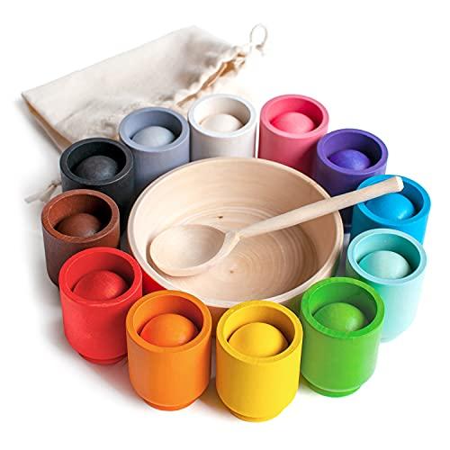 Ulanik Bälle in Tassen Montessori...