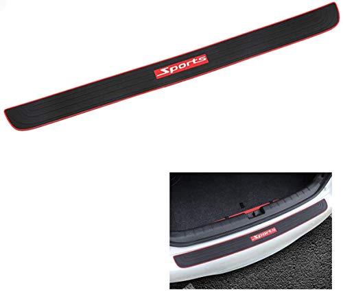 90CM Universal Car Trunk Door Sill Protector Rubber Strip Sticker Auto Rear...