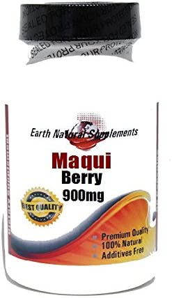 Elegant Maqui Berry 900mg 180 Capsules Natural by Finally popular brand EarhNaturalSu - 100%