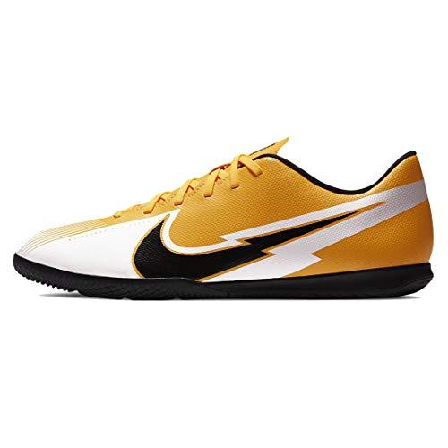 Nike Vapor 13 Club IC, Scarpe per Calcetto a Cinque Uomo, Laser Arancione, Nero e Bianco, 41 EU