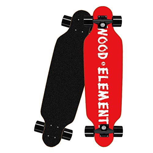 CNSTZX Tabla Completa de Skateboard, Funboard para Principiantes y Profesionales, con Rodamientos...