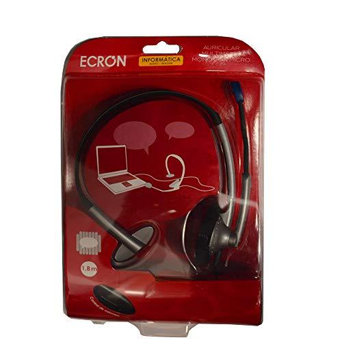 Auricular VIVANCO ECRON C-24 de Diadema, Monoaural, Micro, Gaming