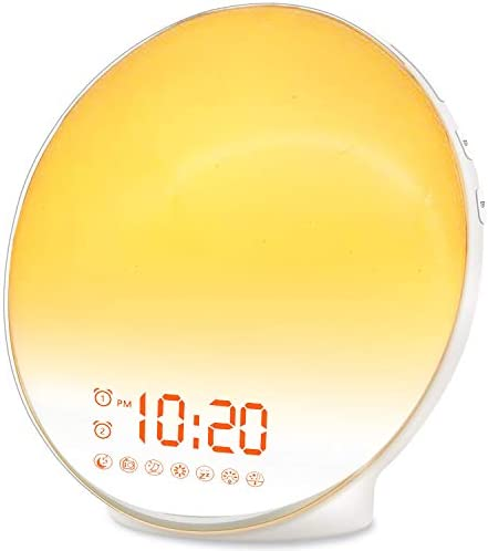 Wake Up Light Sunrise Alarm Clock for Kids Heavy Sleepers Bedroom with Sunrise Simulation Sleep product image