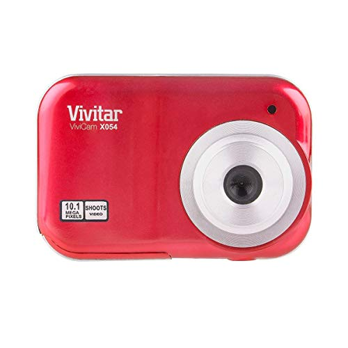 Vivitar ViviCam X054 Digital Camera (Red)