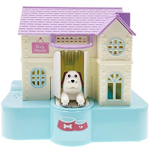 JINLIAN205-SHOP huchas Creative Electric Piggy Bank Puppy Villa Regalo de cumpleaños Niños Año Nuevo Juguetes huchas electronicas
