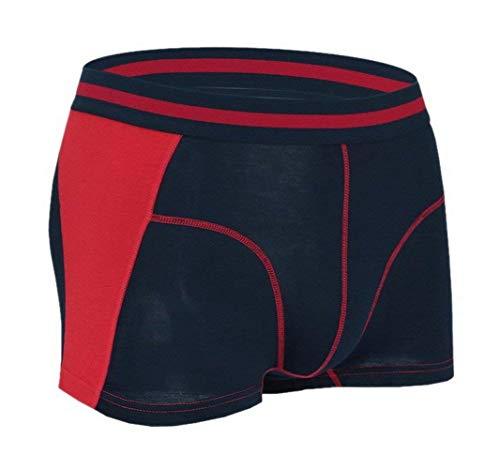 Modal elastisk boxershorts för män moderna vardagliga shorts återköp elastiska bekväma andningsbara basunderbyxor