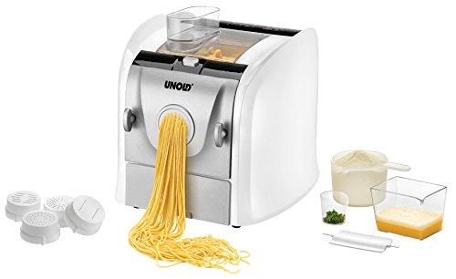 UNOLD 68860 NUDELMEISTER Pasta Nudelmaschine, Aluminium, Weiß