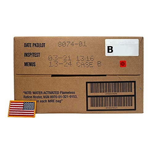 Ozark Outdoorz 01/2018 Pack, 01/2021 Inspection US Military MRE B Case with...
