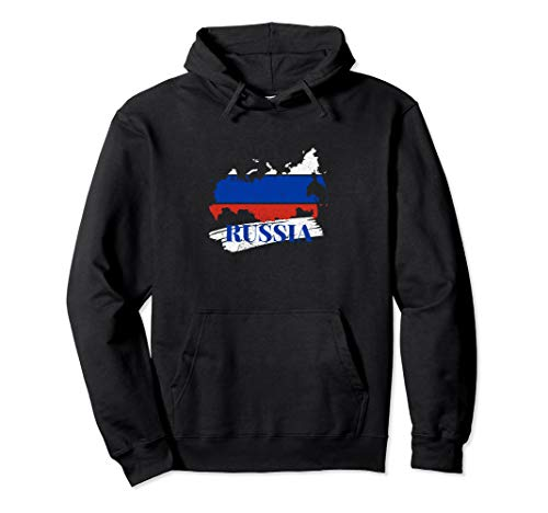 Cooles Russen Design I Russia Fahne Nation Pullover Hoodie
