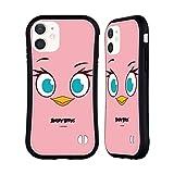Head Hülle Designs Offiziell Offizielle Angry Birds Pink Volles Gesicht Hybride Handyhülle Hülle Huelle kompatibel mit Apple iPhone 12 Mini