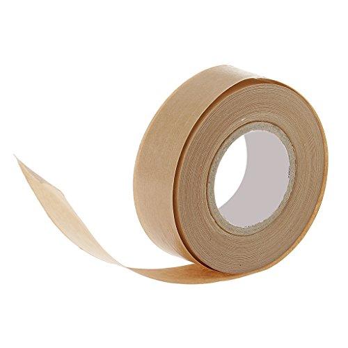 50 M Kraftpapier Tape Sealing Bilderrahmen Wasser Aktiviert Kraftpapier Band Aquarellpapier Klebstoff Einseitig Klebeband Kraftpapier für Bindung